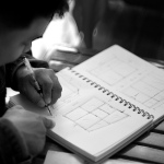 drawing architectural plans