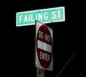 Failing Street streetsign