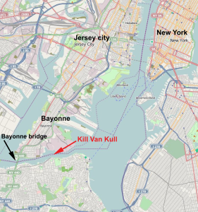 Map of Bayonne