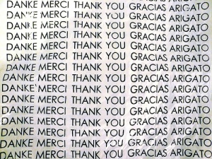 thank you in 5 languages