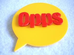 opps sign